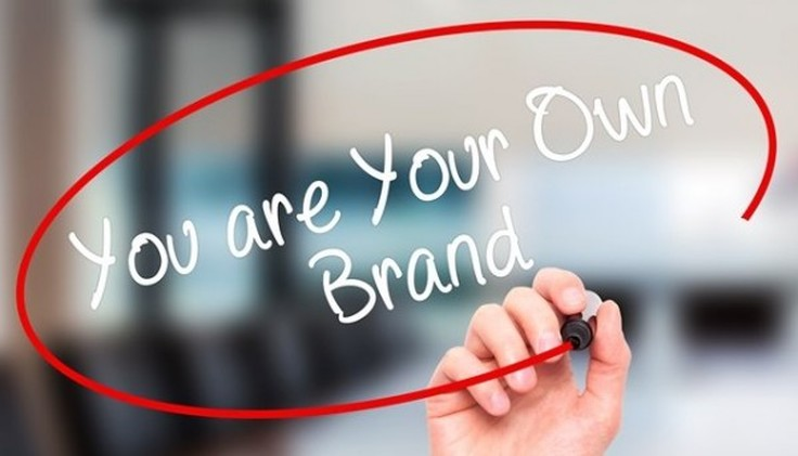 This image drives home the crux of personal branding - being your brand.
