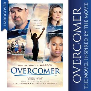 The front cover of Overcomer by Chris Fabry