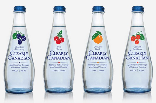 Clearly Canadian Bottles