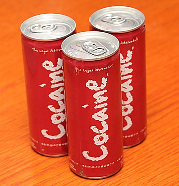 Cocaine Soda Cans