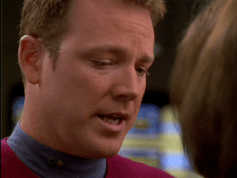 Tom Paris from Stark Trek with the Federation sideburns.