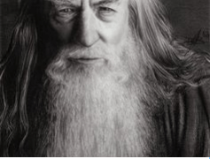 Gandalf of Lord of the Rings fame has a full beard.