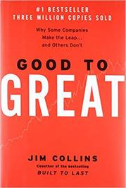 The cover of Jim Collins' book,