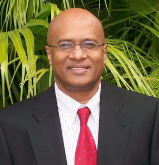 An image of Hubert Rampersad, president of Technological University of the Americas.
