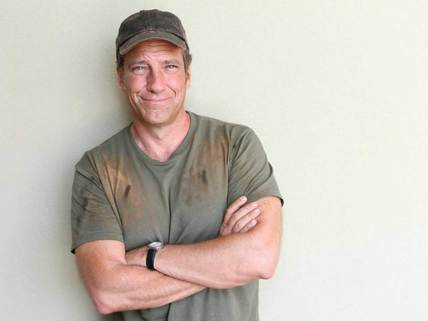 Mike Rowe, while an actor, has managed to build his brand as a blue collar hero.