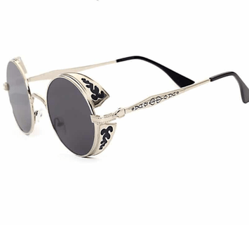 The retro steampunk sunglasses from Top Tier.