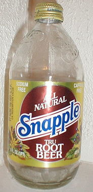 Snapple Clear Root Beer