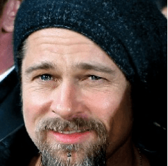 Brad Pitt with the Sparrow facial hair.
