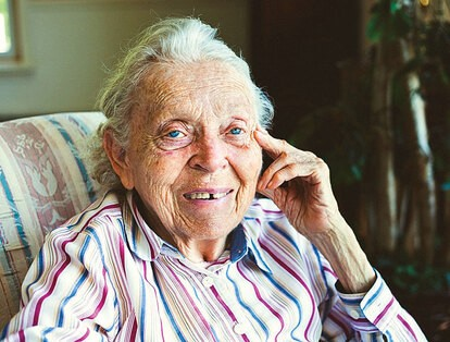 Elisabeth Elliot, an inspiring missionary and bestselling author.