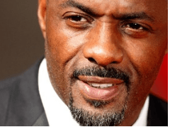 Idris Elba often wears a goatee facial hair style.
