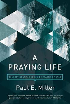 The cover of A Praying Life: Connecting with God in a Distracting World