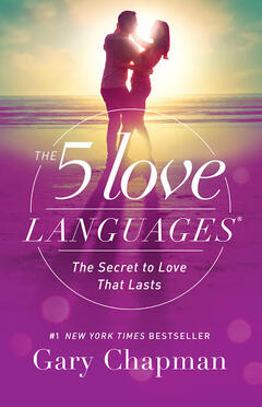 The book cover of The 5 Love Languages by Dr. Gary Chapman