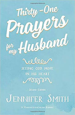 The front cover of Thirty-One Prayers for my Husband