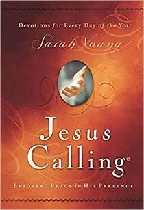 Cover of Jesus Calling by Sarah Young