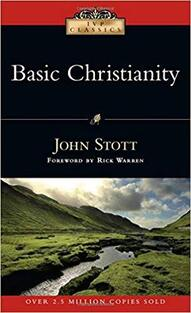 The cover of Basic Christianity